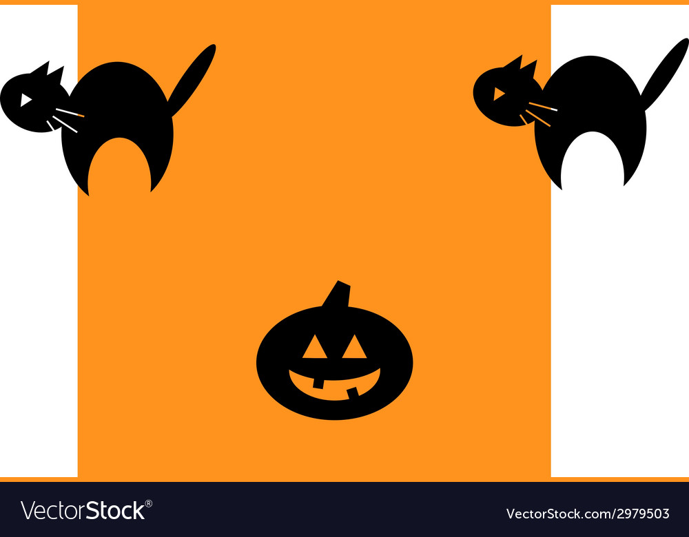 Halloween repeating background pattern vector | Price: 1 Credit (USD $1)