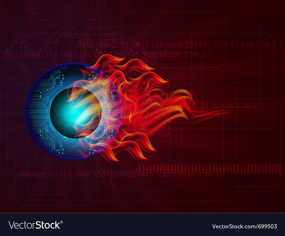 Technology background vector | Price: 3 Credit (USD $3)