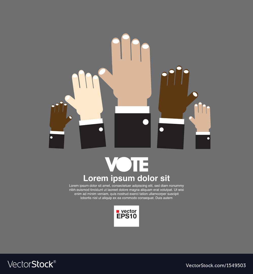 Vote for election vector | Price: 1 Credit (USD $1)