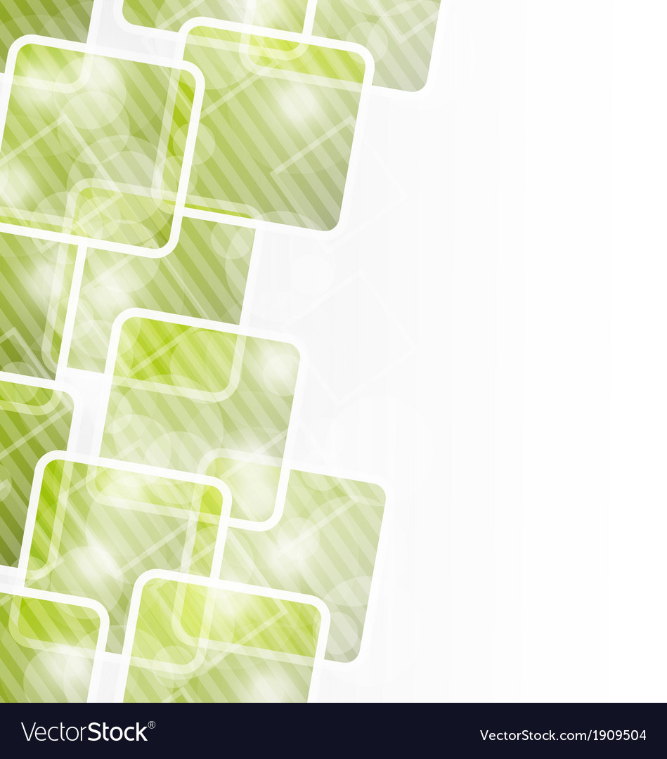 Abstract banner with squares for design corporate vector | Price: 1 Credit (USD $1)