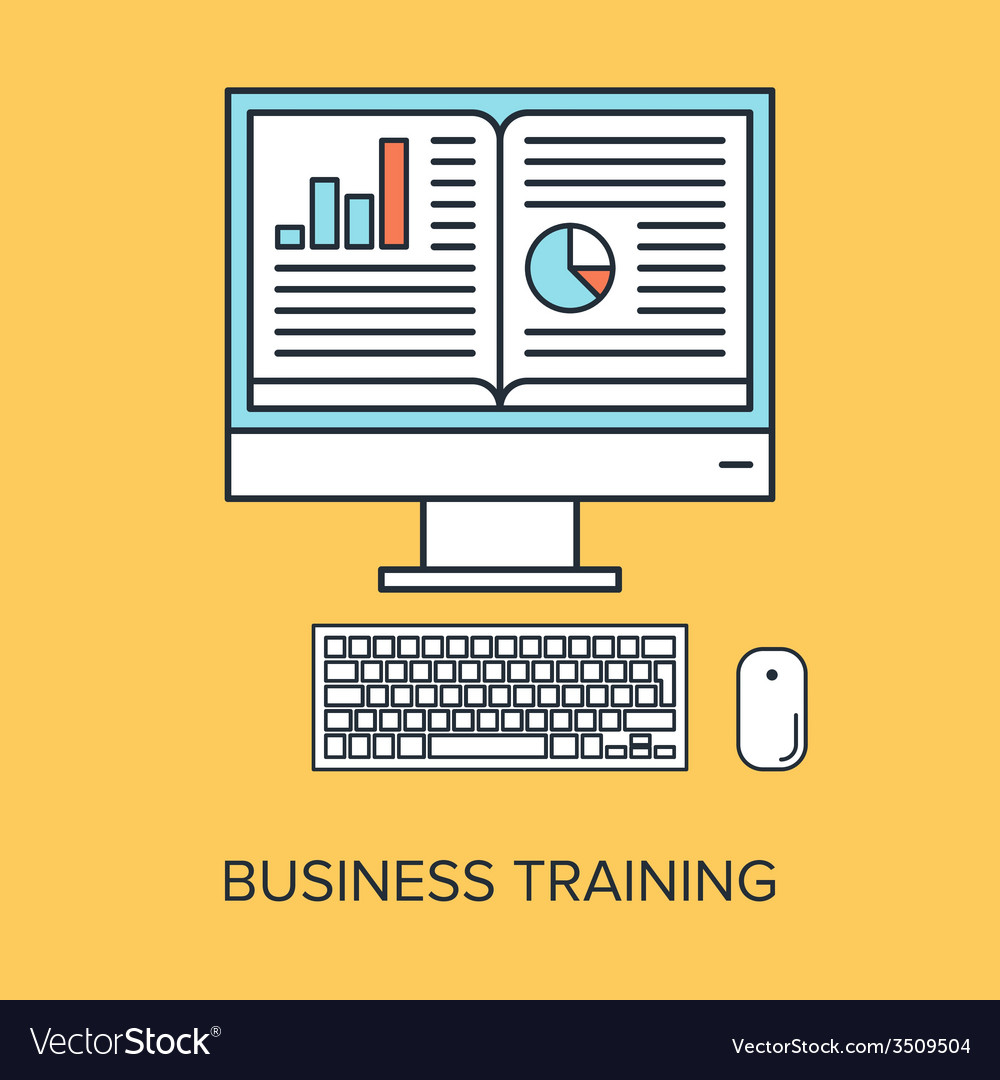 Business training vector | Price: 1 Credit (USD $1)