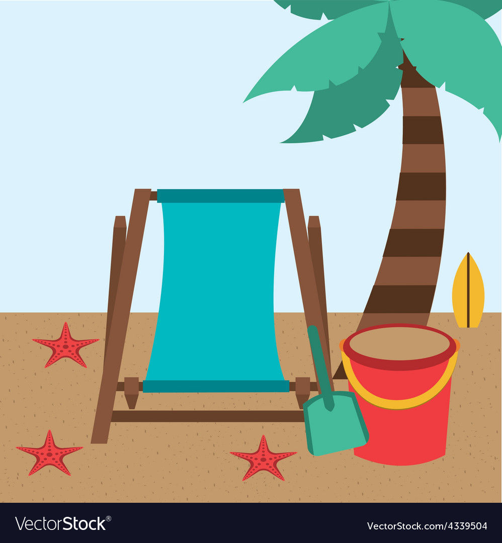Summer vacation vector | Price: 1 Credit (USD $1)