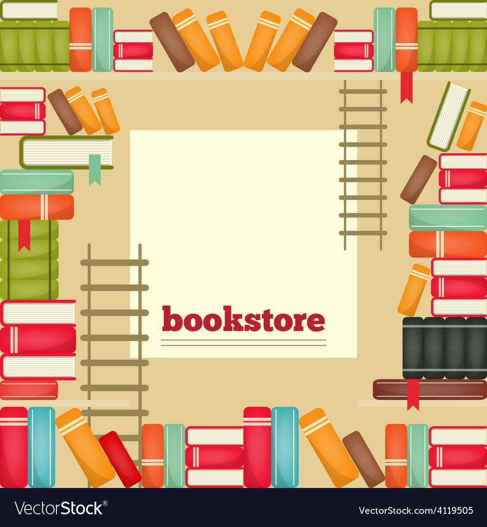 Bookstore vector | Price: 3 Credit (USD $3)