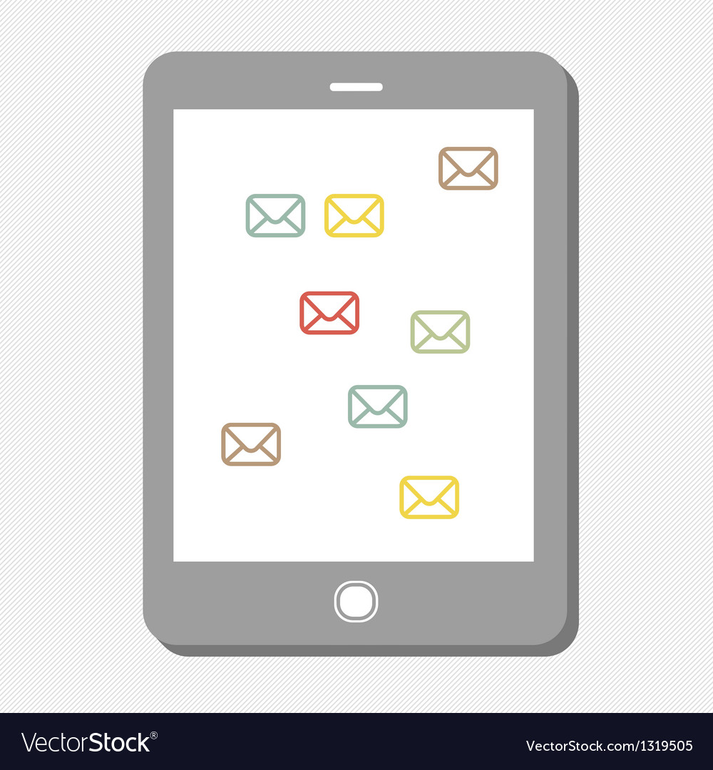 Mail icons vector | Price: 1 Credit (USD $1)