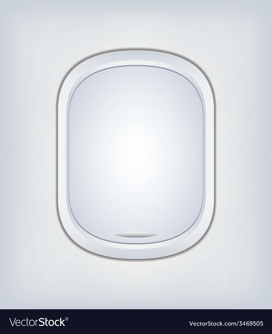 Window airplane 07 vector | Price: 1 Credit (USD $1)