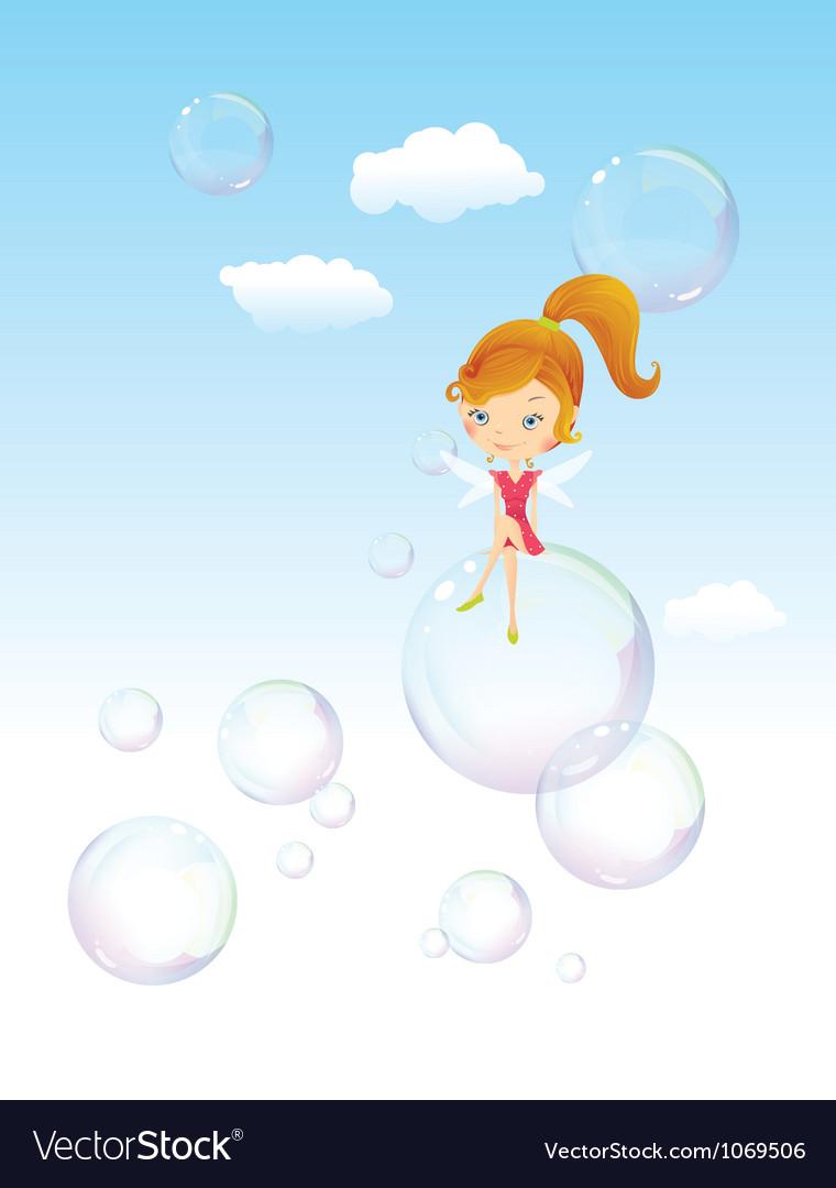 Fairy girl vector | Price: 3 Credit (USD $3)