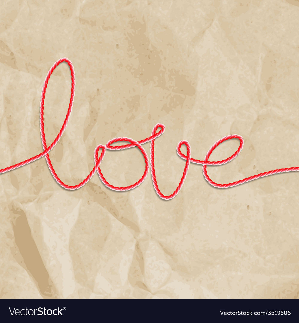 Shape word - love eps 10 vector | Price: 1 Credit (USD $1)