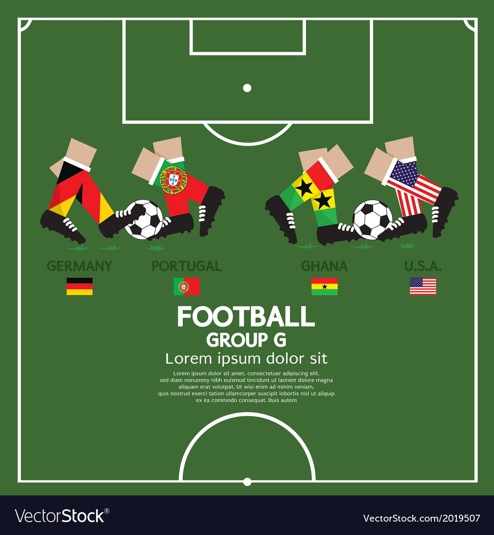 Group g 2014 football tournament vector | Price: 1 Credit (USD $1)
