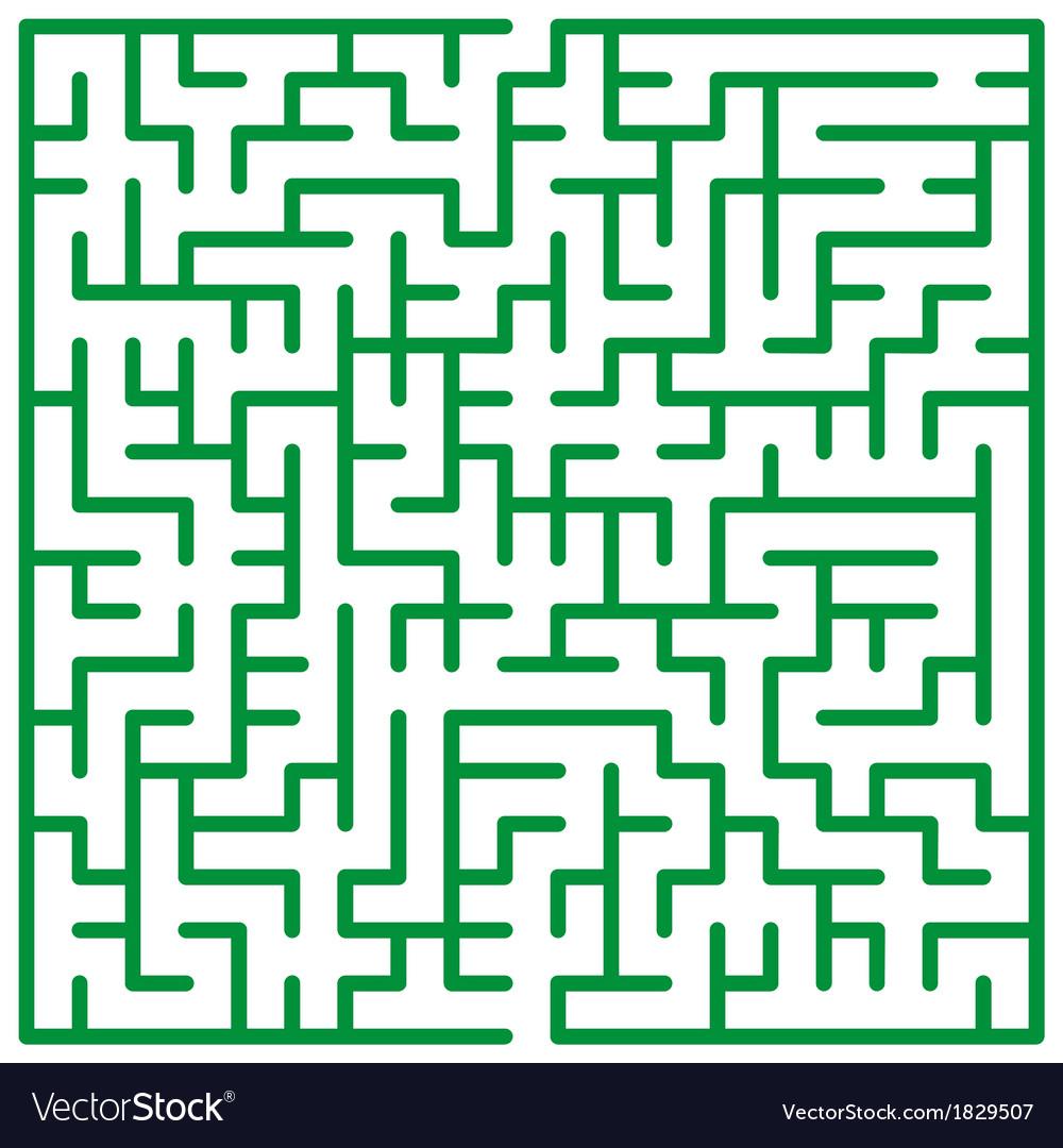 Maze vector | Price: 1 Credit (USD $1)