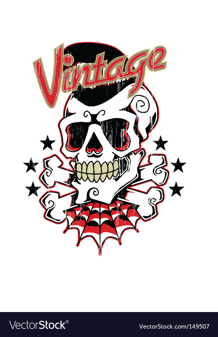 Rockabilly vector | Price: 1 Credit (USD $1)