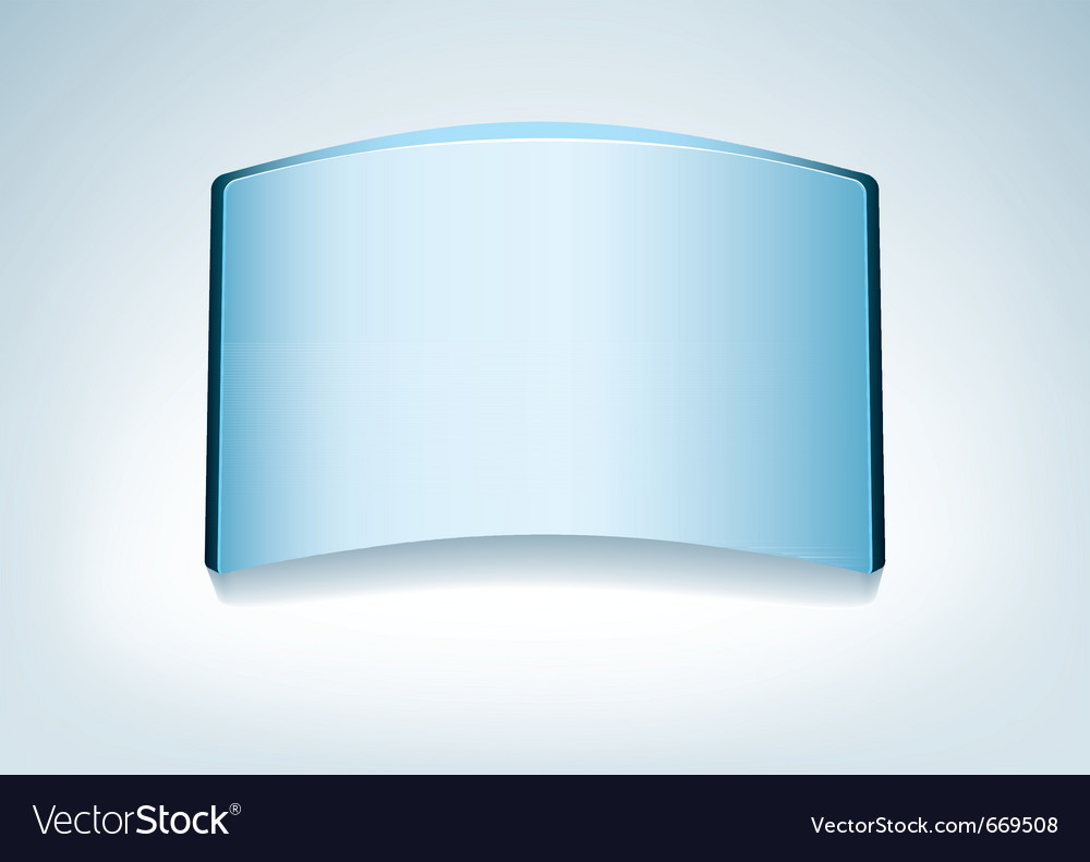 Clear glass name vector | Price: 1 Credit (USD $1)