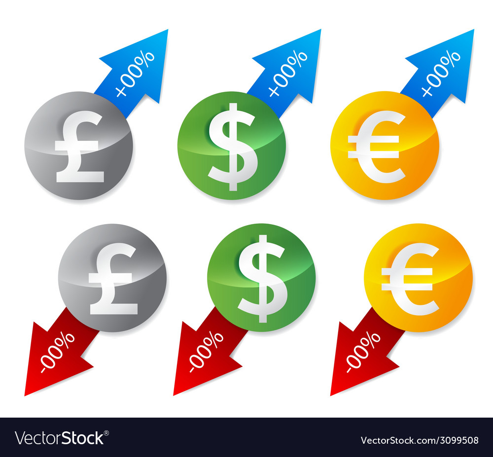 Currency signs guote vector | Price: 1 Credit (USD $1)