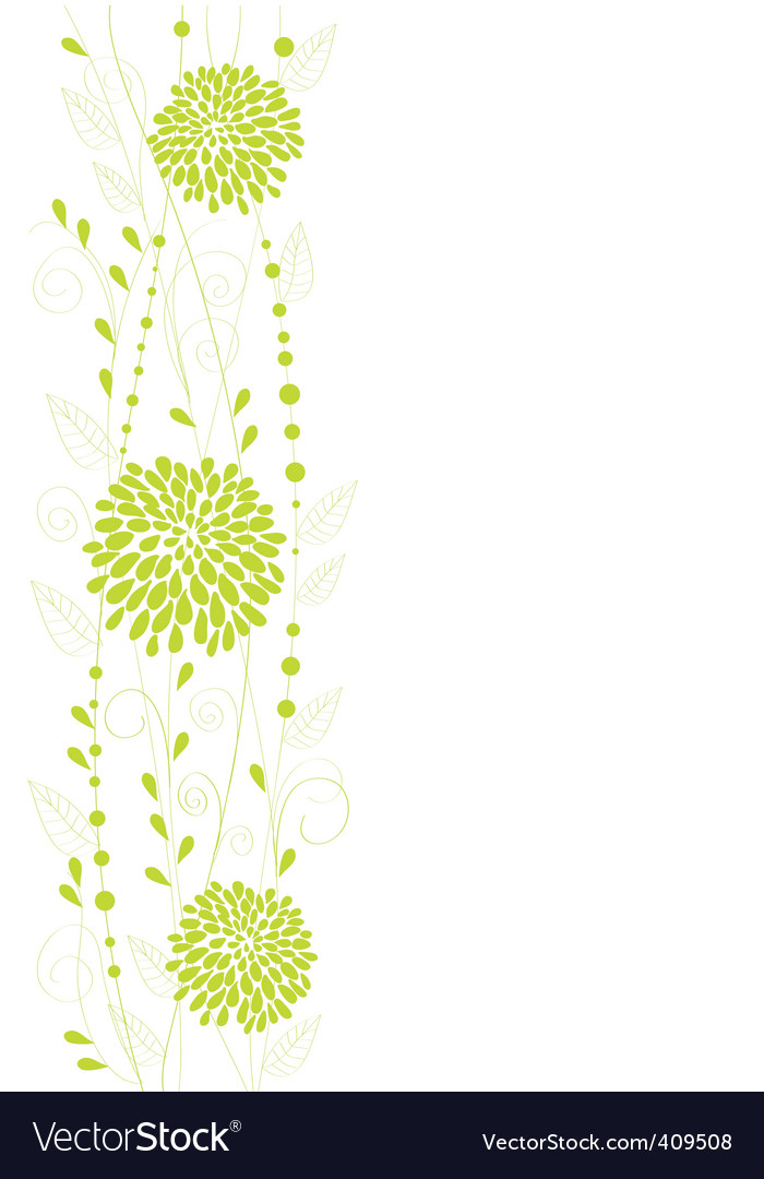 flower design vector | Price: 1 Credit (USD $1)