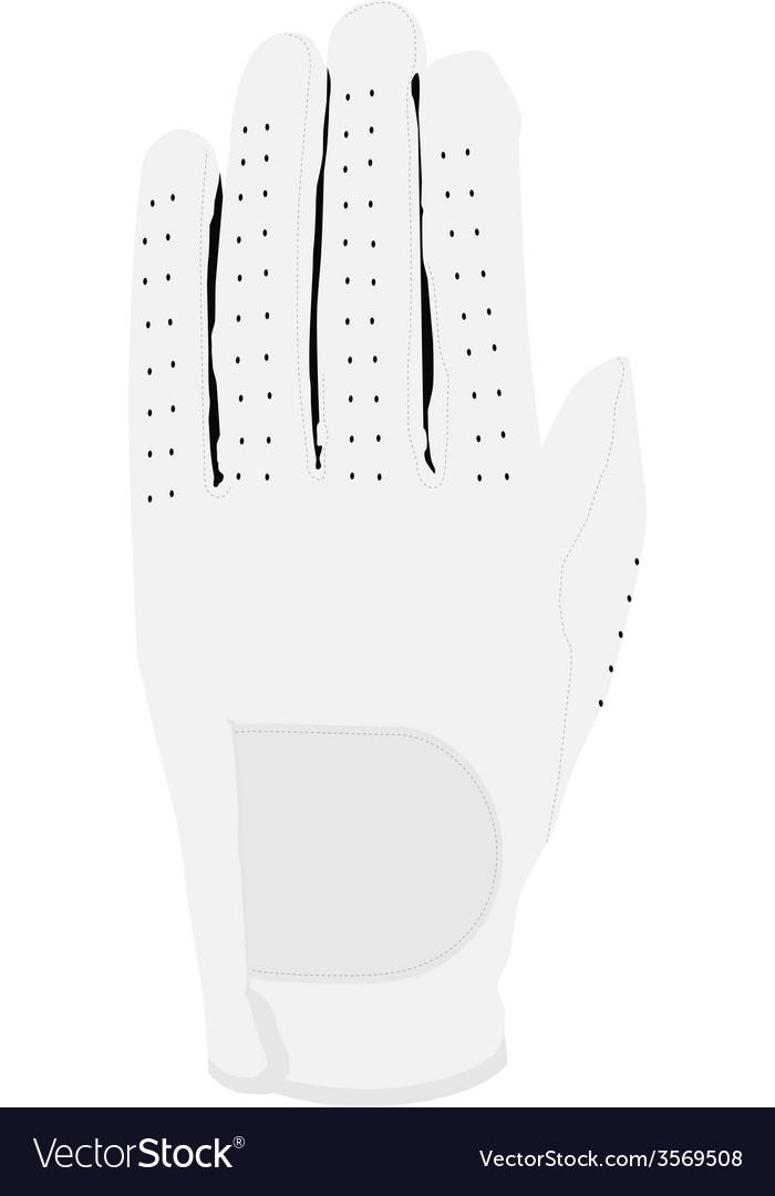 White glove vector | Price: 1 Credit (USD $1)