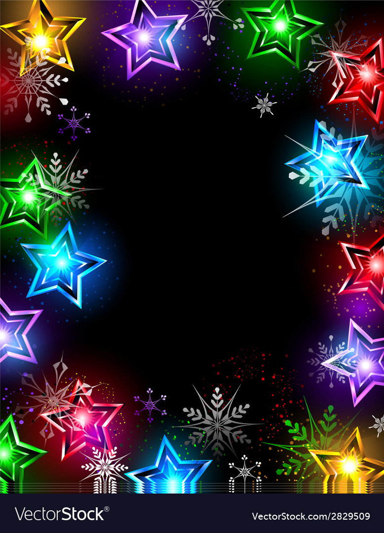 Electric stars vector | Price: 1 Credit (USD $1)