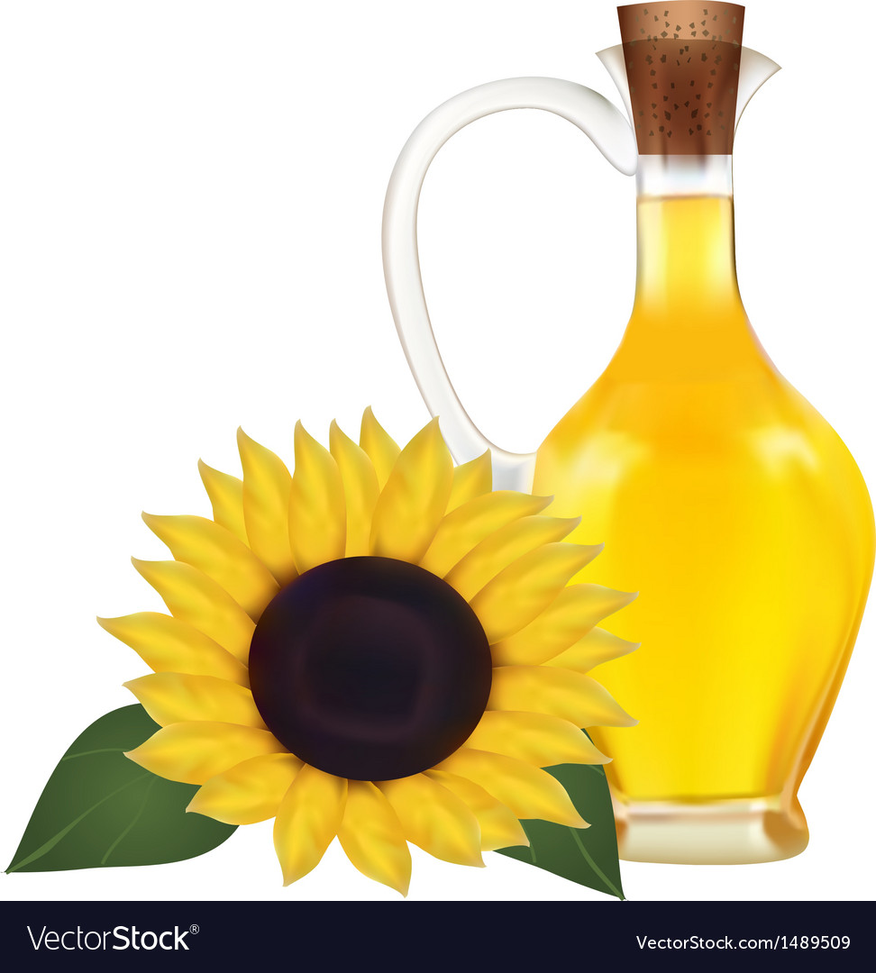 Oil in a bottle vector | Price: 1 Credit (USD $1)