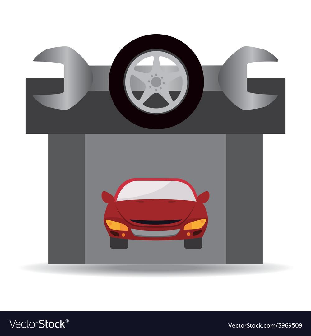 Tire design vector | Price: 1 Credit (USD $1)