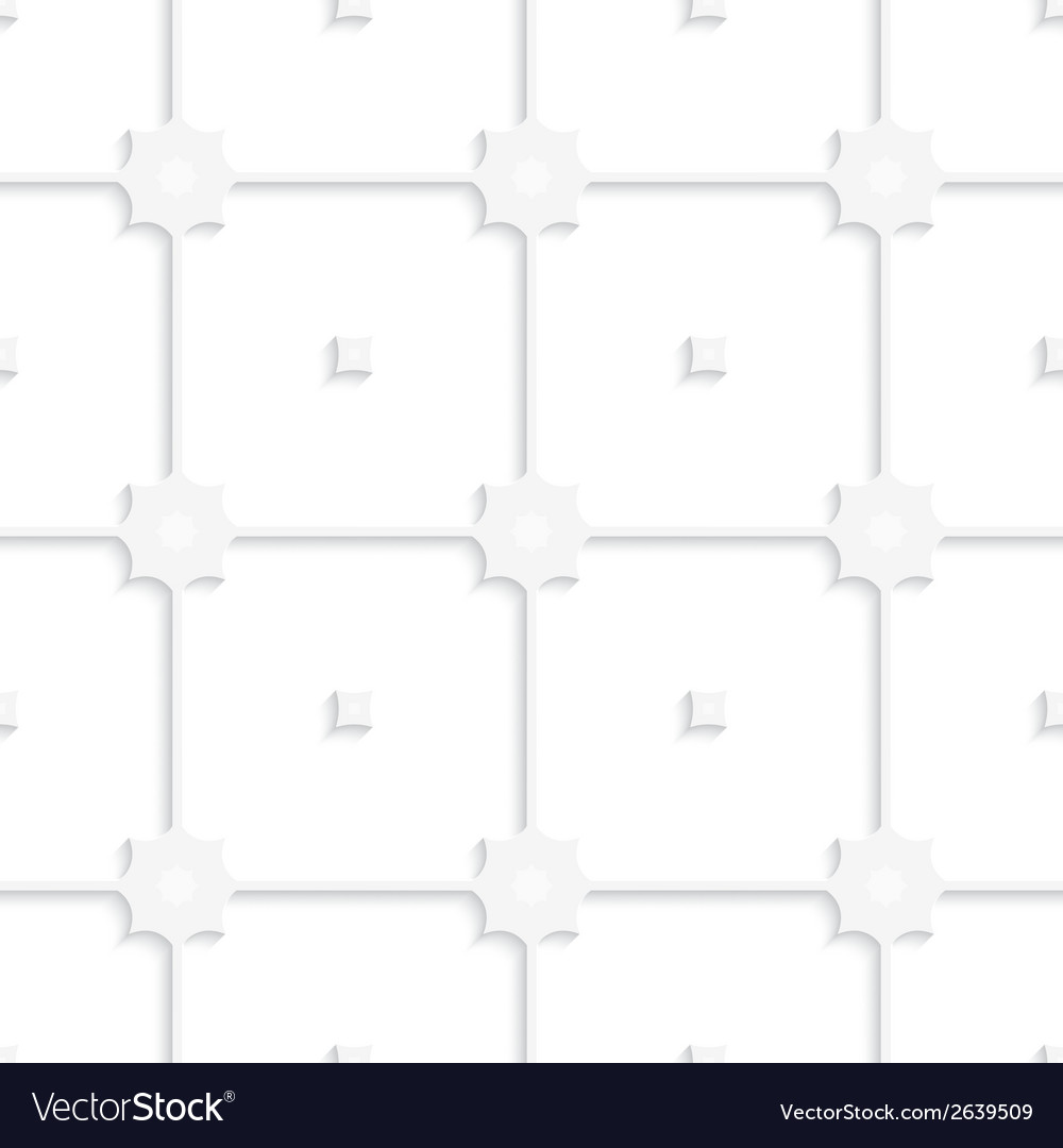White square net tile ornament vector | Price: 1 Credit (USD $1)