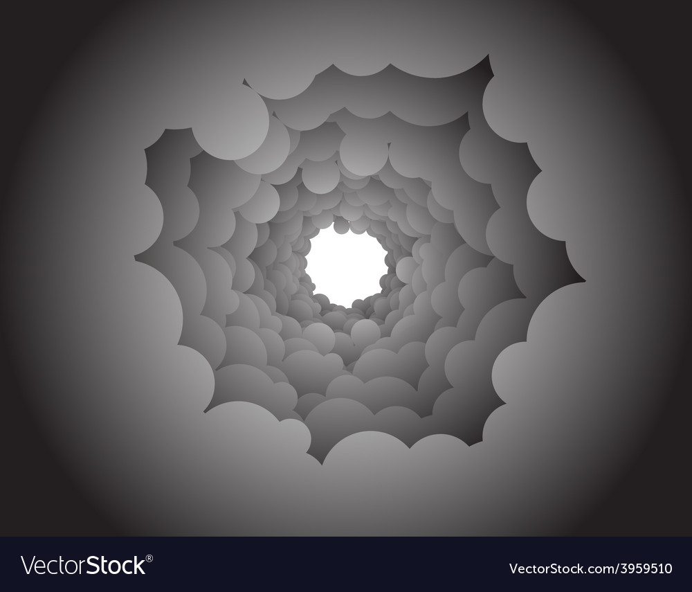 Abstract back vector