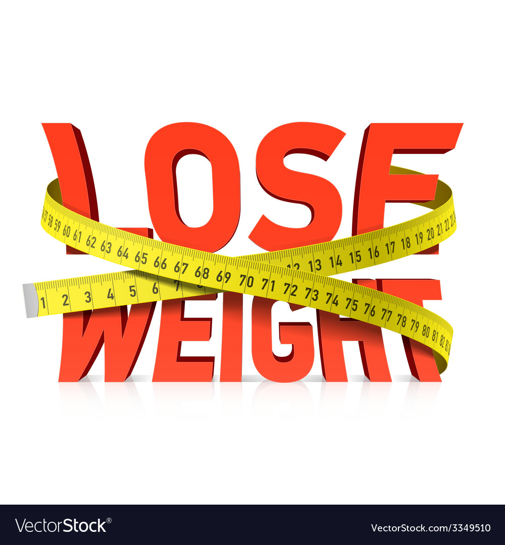 Lose weight concept vector | Price: 1 Credit (USD $1)