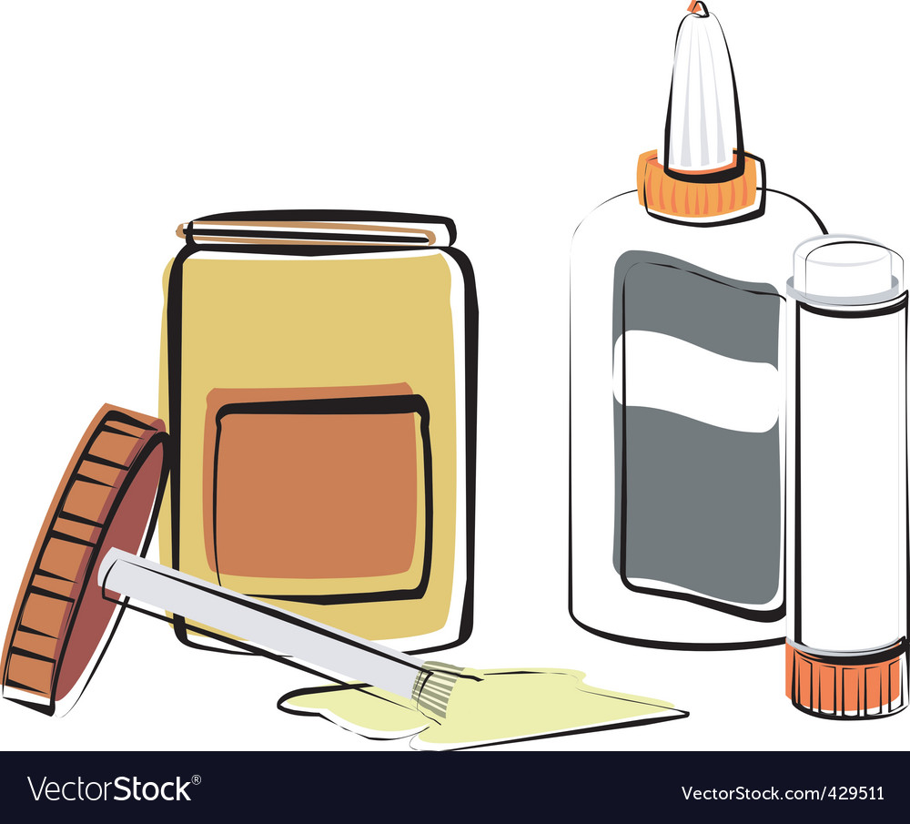 Glues vector | Price: 1 Credit (USD $1)