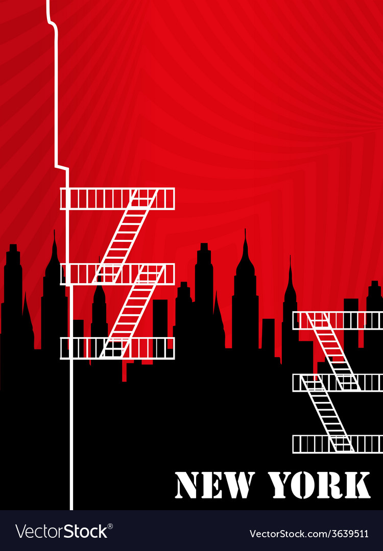 New york background vector | Price: 1 Credit (USD $1)
