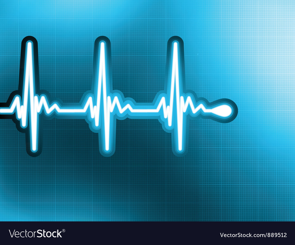 Heart cardiogram vector | Price: 1 Credit (USD $1)