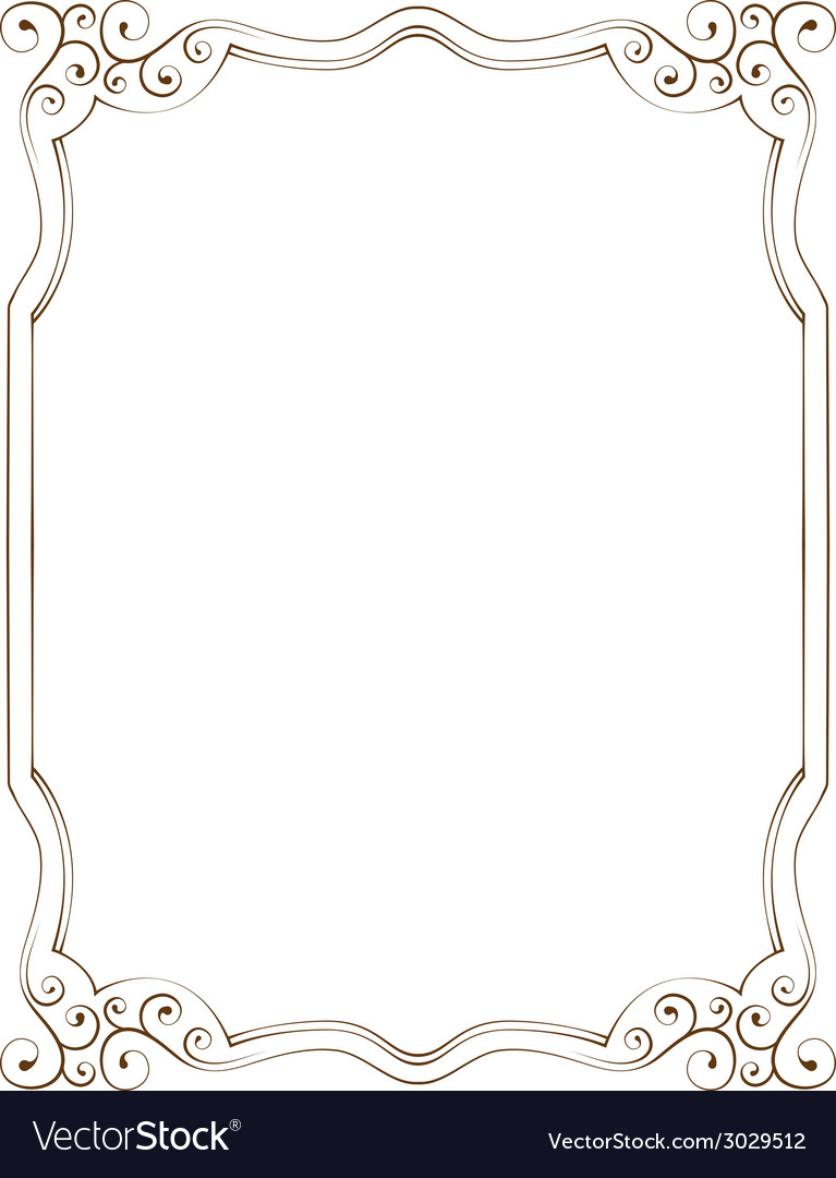 Vertical frame vector | Price: 1 Credit (USD $1)