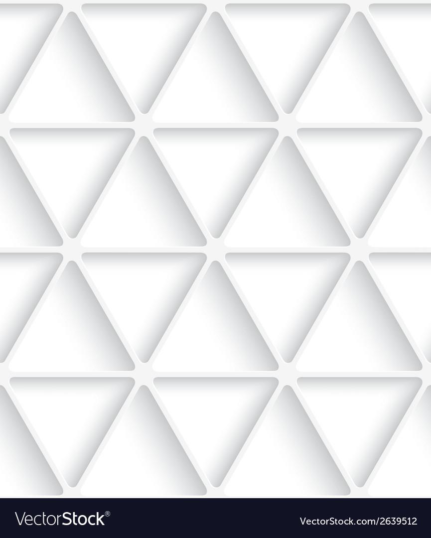 White triangular net seamless vector | Price: 1 Credit (USD $1)