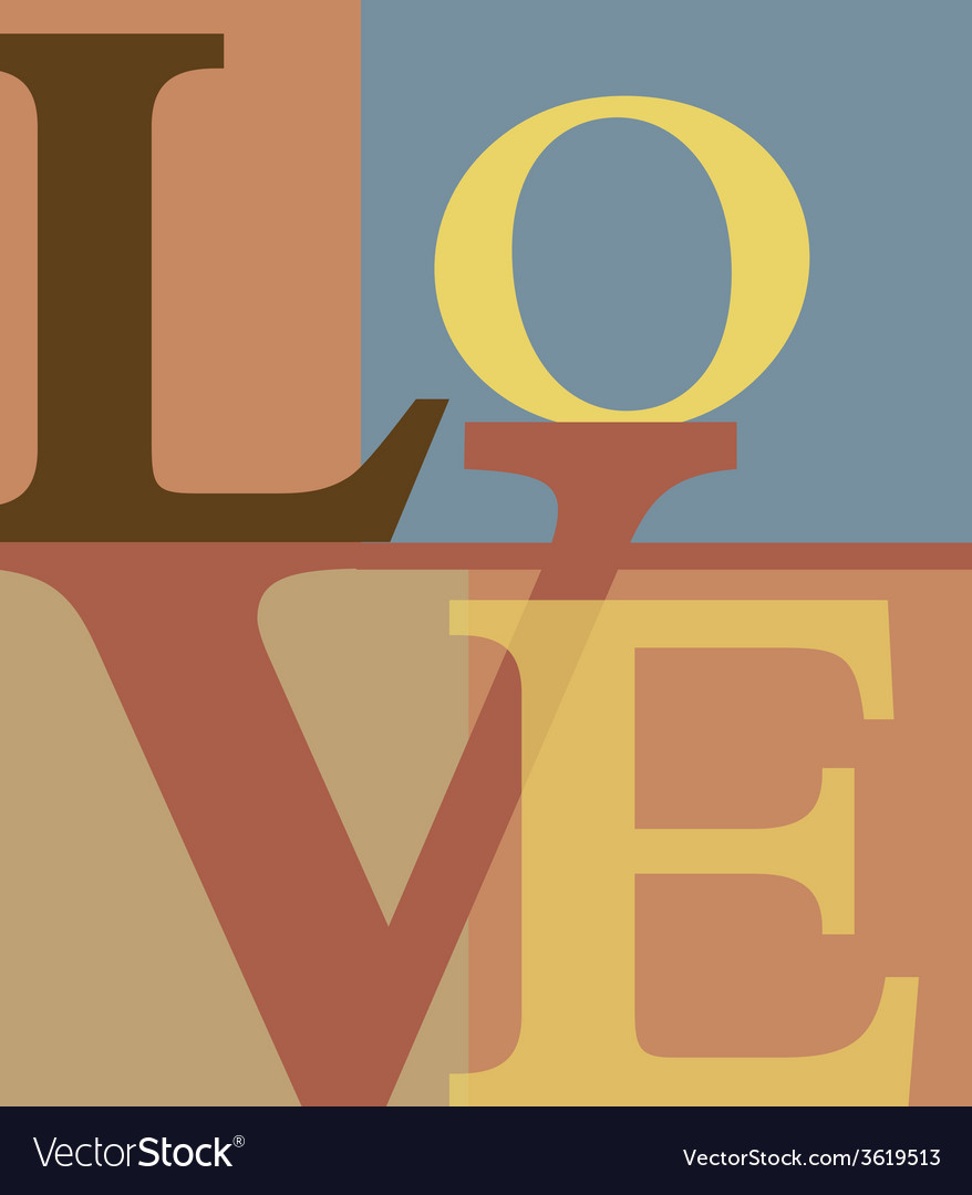 Abstract love letters vector   Price: 1 Credit (USD $1)