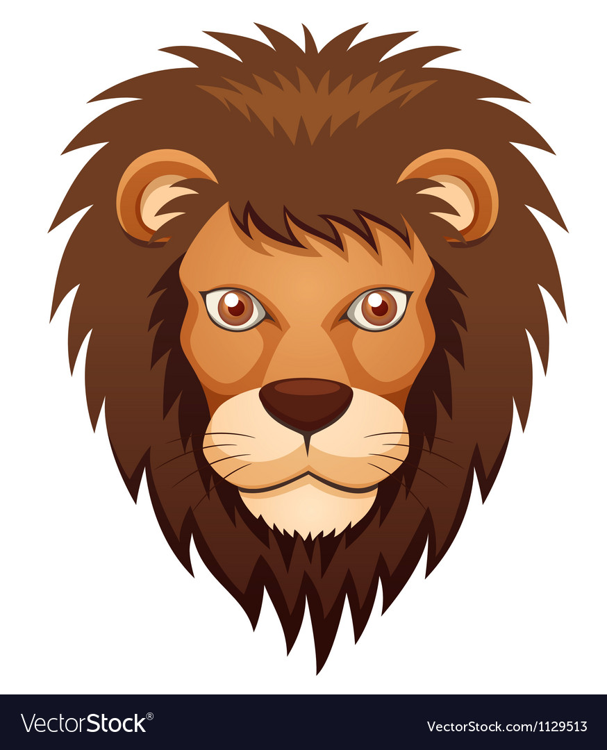 Lion face vector   Price: 1 Credit (USD $1)