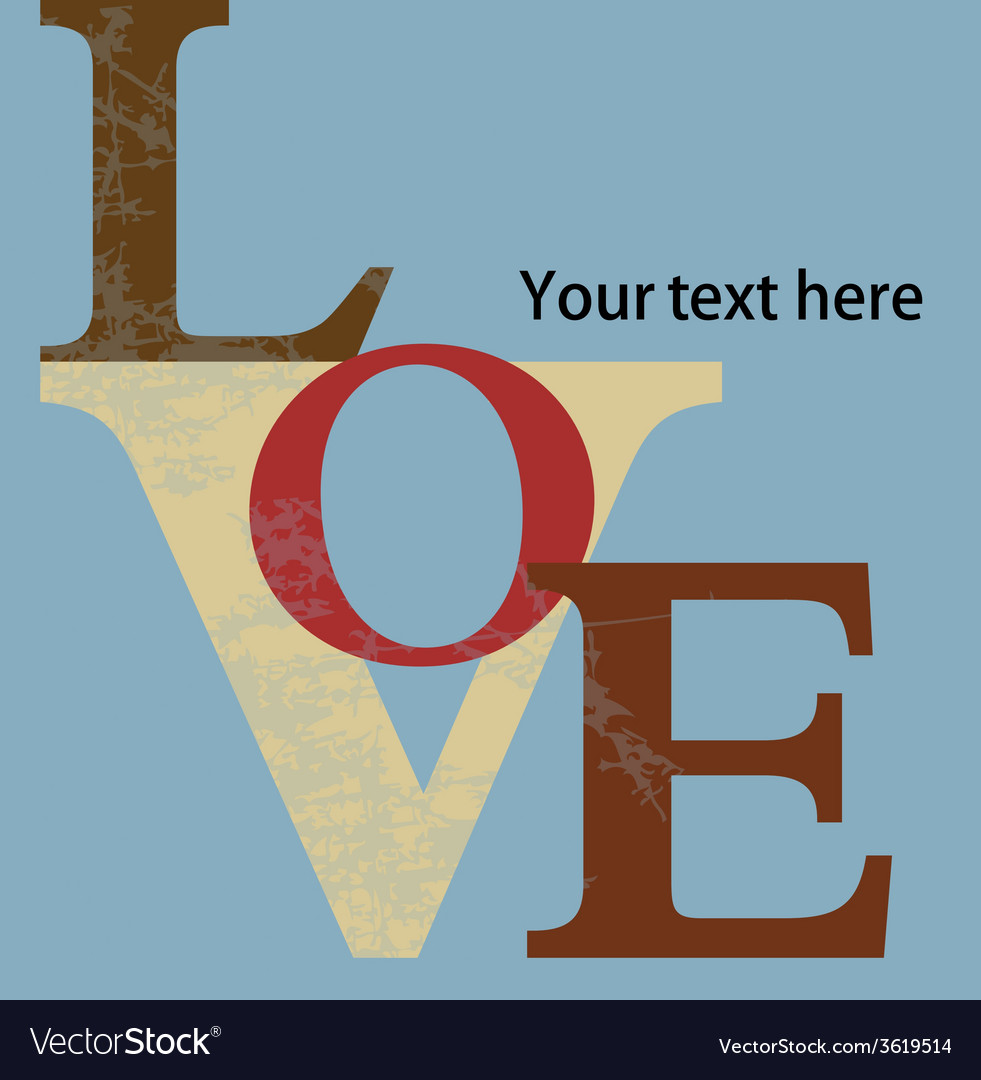 Abstract background love letters vector   Price: 1 Credit (USD $1)