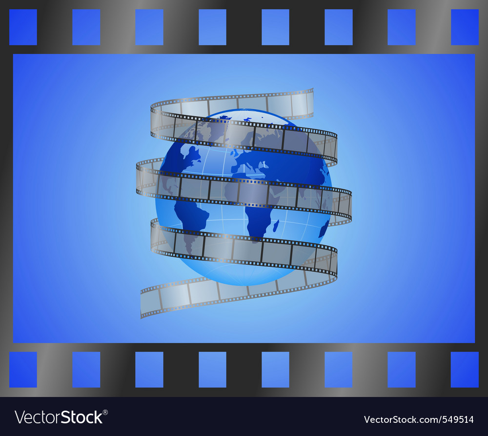 International film vector | Price: 1 Credit (USD $1)