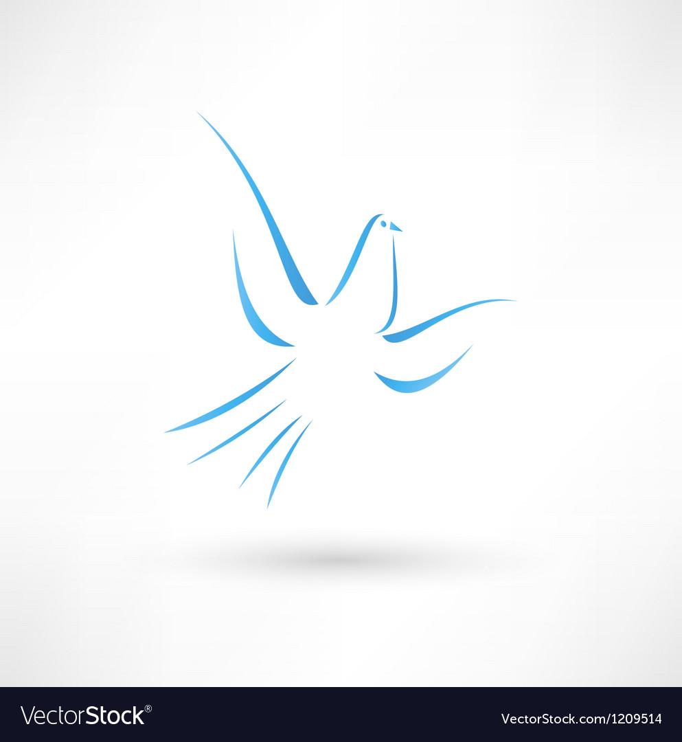 Pigeon icon vector | Price: 1 Credit (USD $1)