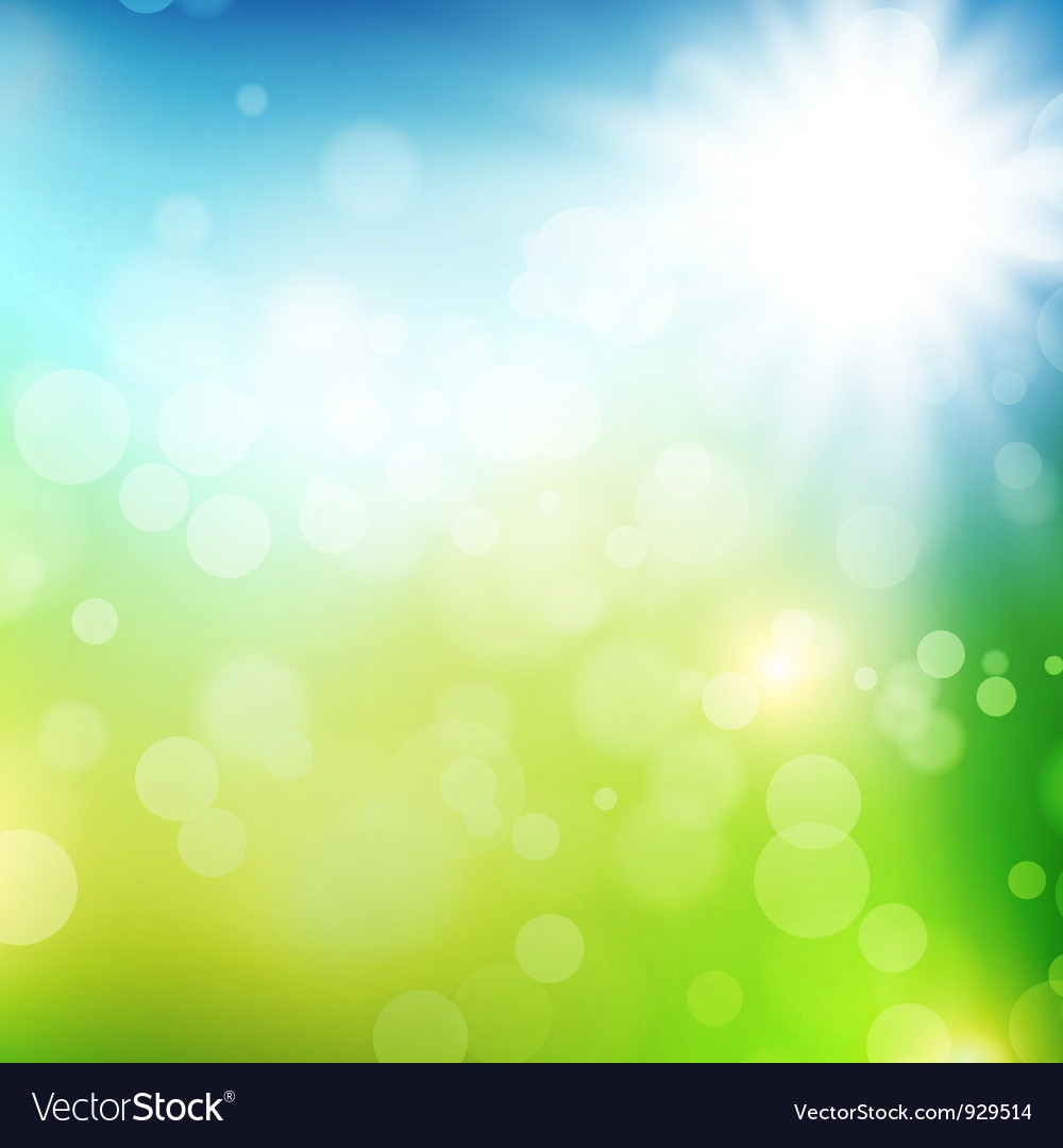 Summer or spring background vector