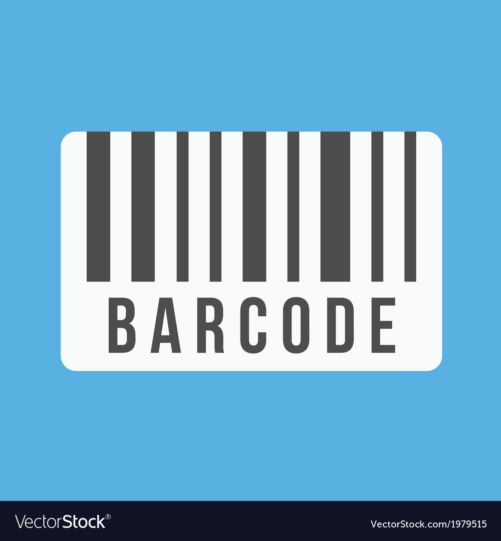 Barcode icon vector | Price: 1 Credit (USD $1)