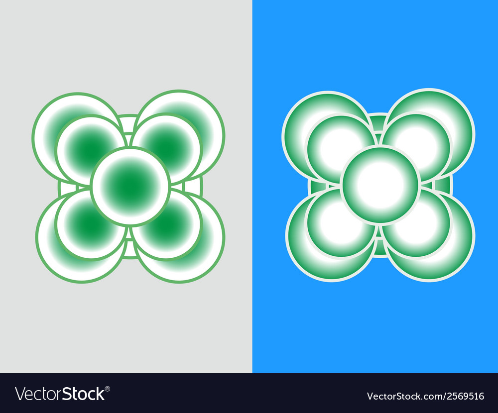 Logo-flower vector | Price: 1 Credit (USD $1)