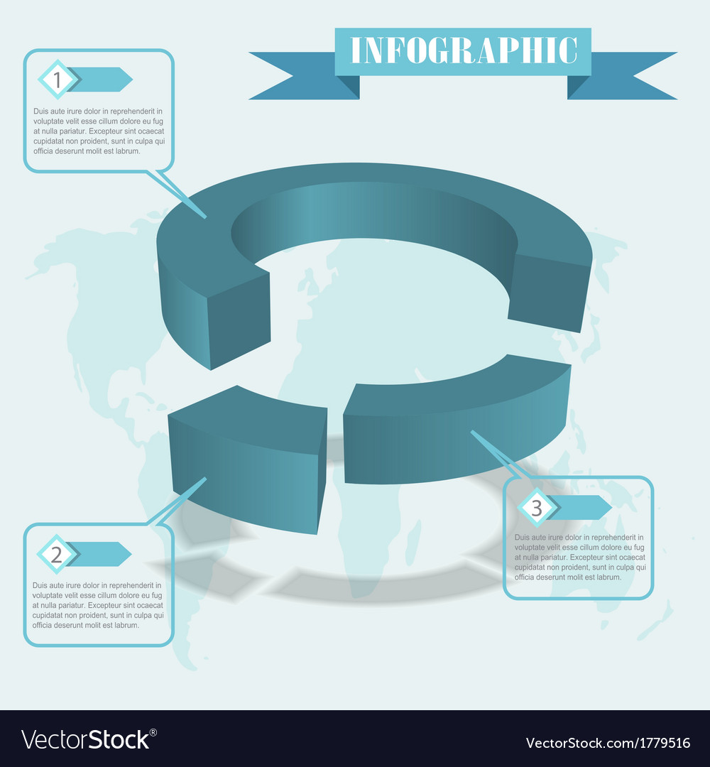 Share infographics vector | Price: 1 Credit (USD $1)