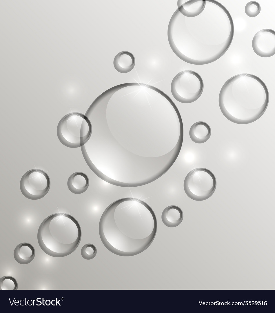 Water abstract background with drops place for vector | Price: 1 Credit (USD $1)