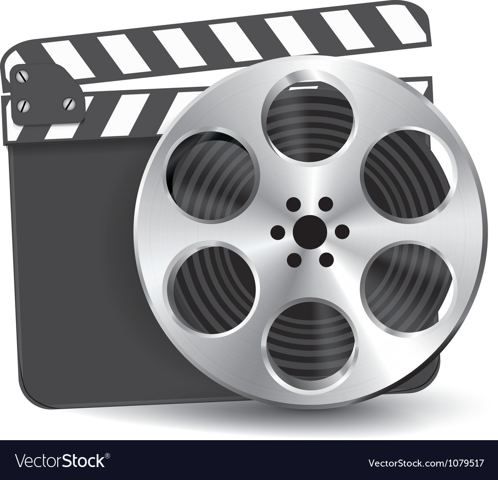 Clapperboard vector | Price: 1 Credit (USD $1)