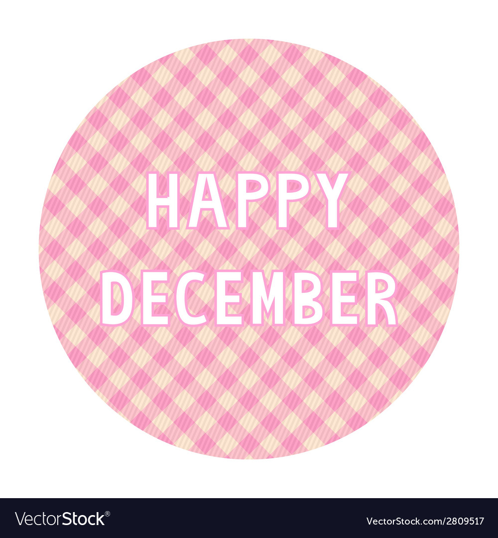 Happy december background4 vector | Price: 1 Credit (USD $1)