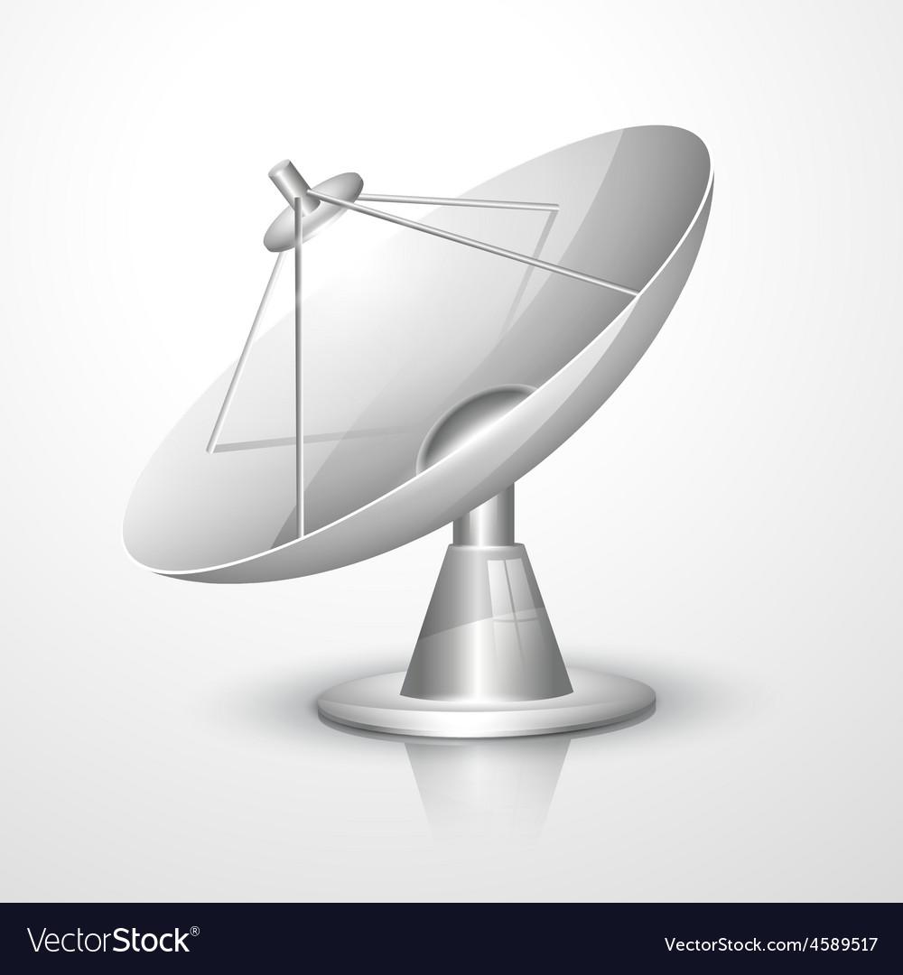 Radar dish vector | Price: 1 Credit (USD $1)