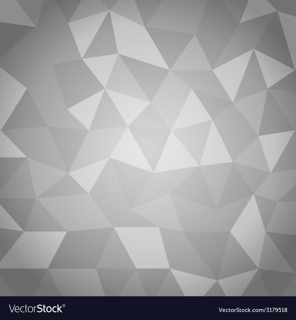 Abstract triangle with gray background vector | Price: 1 Credit (USD $1)