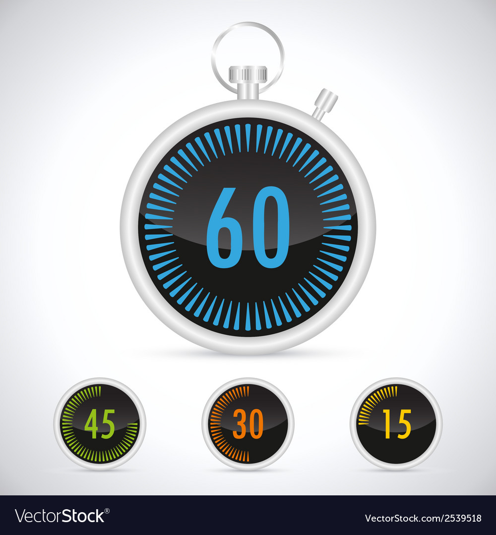 Countdown timer vector | Price: 1 Credit (USD $1)