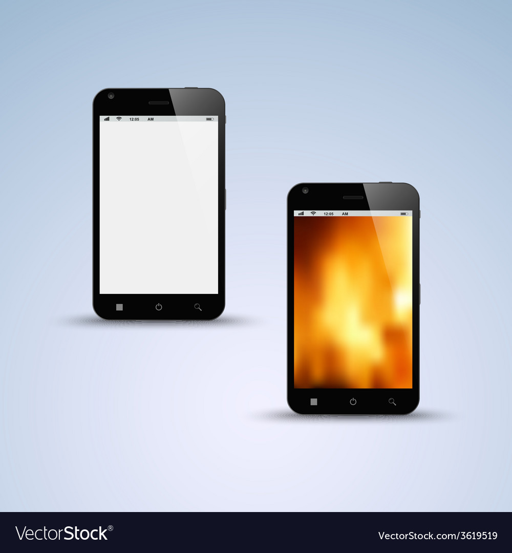 Abstract black smartphone background vector | Price: 1 Credit (USD $1)