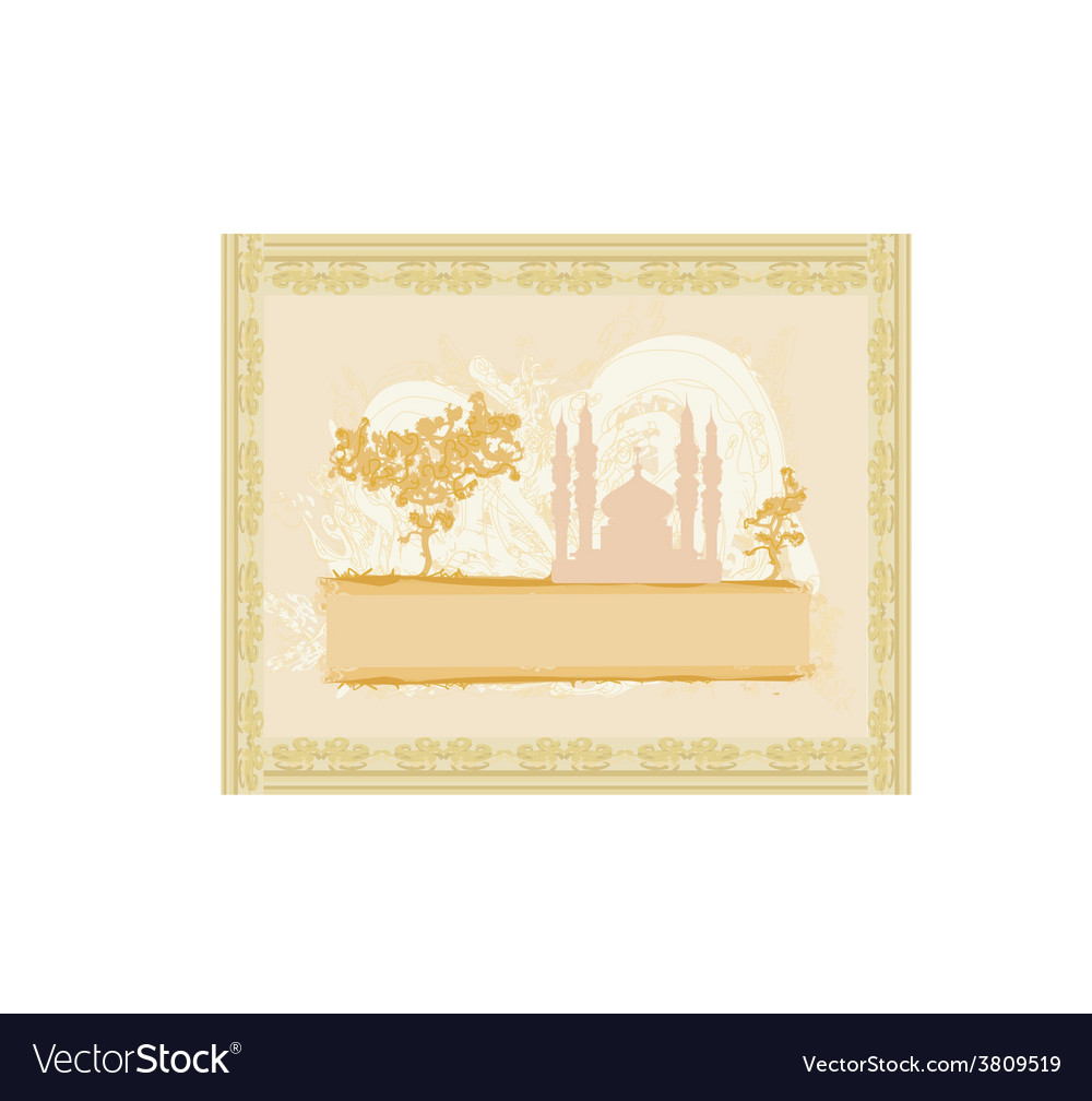 Abstract religious background - ramadan kareem vector   Price: 1 Credit (USD $1)