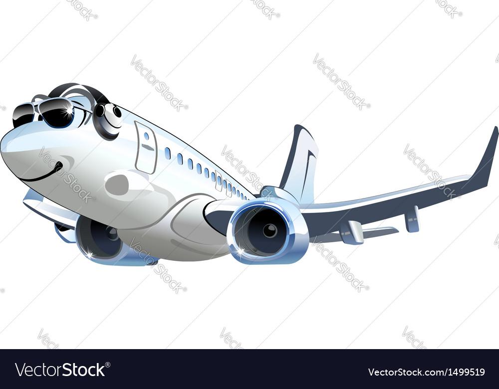 Cartoon airliner vector   Price: 3 Credit (USD $3)