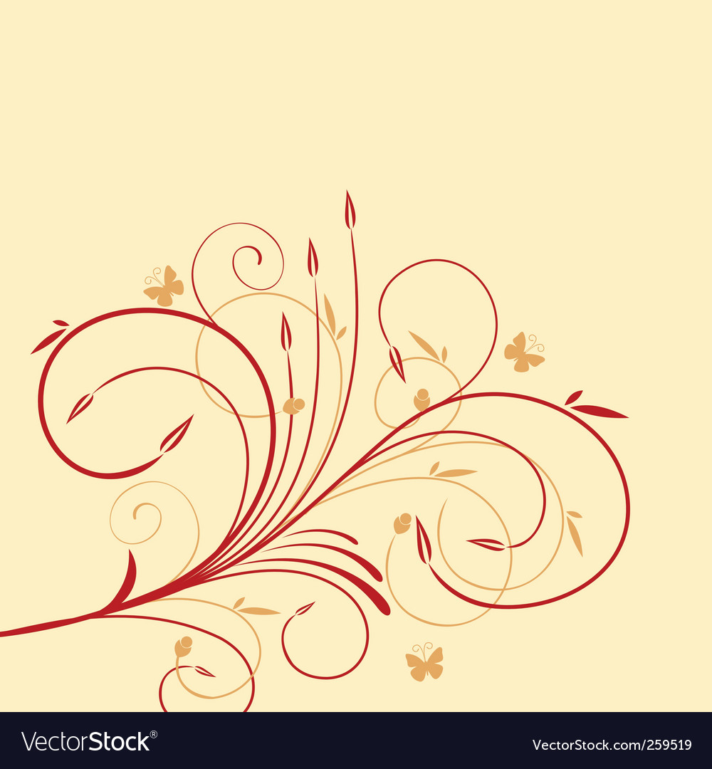 Flower designs vector | Price: 1 Credit (USD $1)