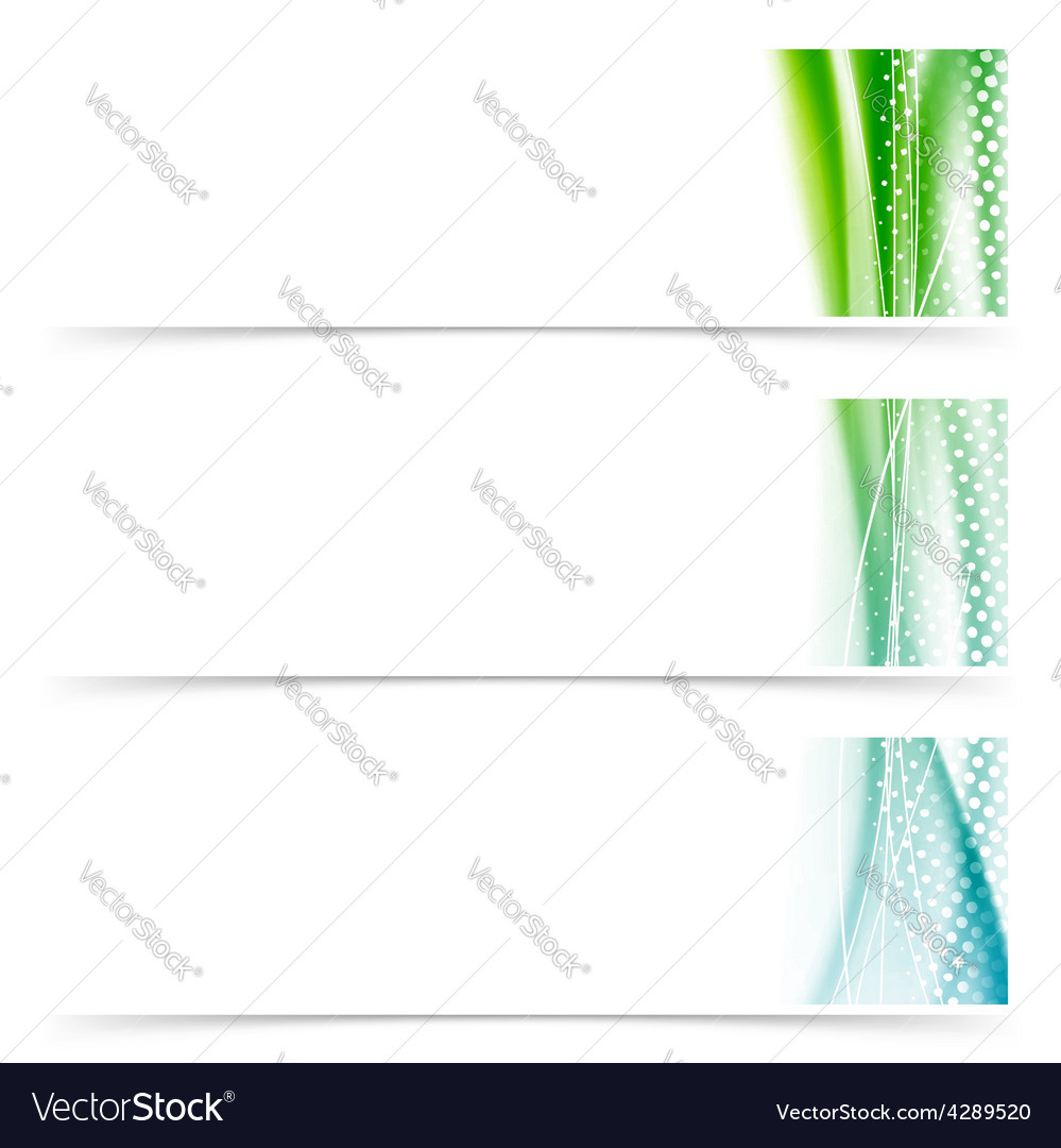 Cards header footer smooth wave swoosh layout vector | Price: 1 Credit (USD $1)