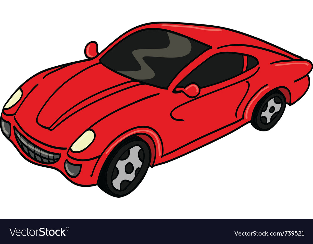 Car sports vector | Price: 1 Credit (USD $1)